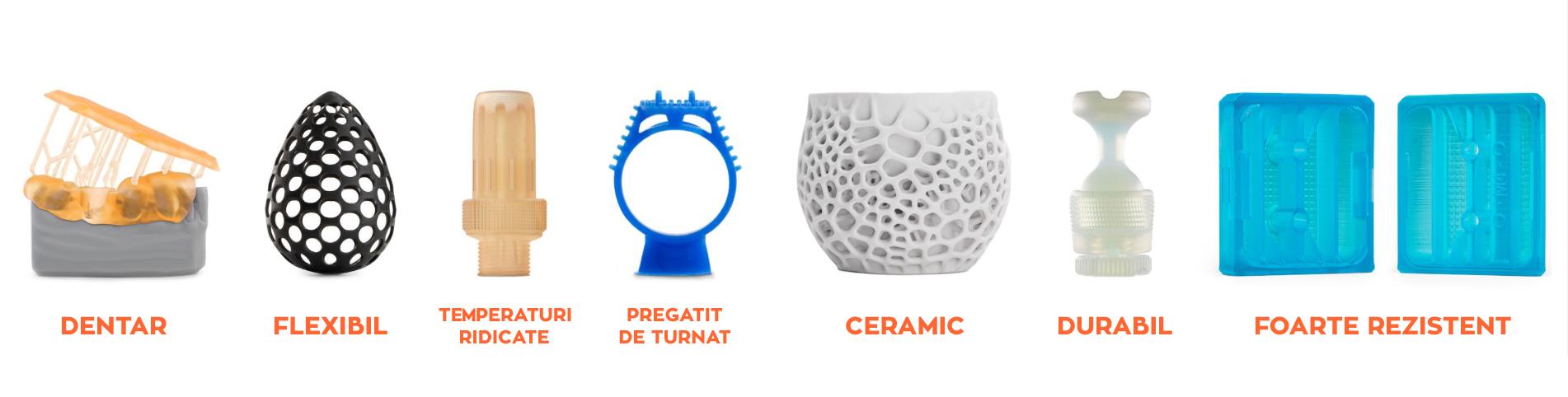 3d print SLA materiale diferite calitate superioara detalii mari